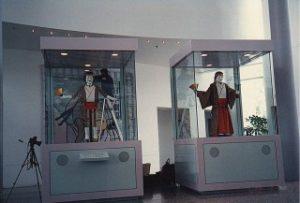 オーストラリア国立科学技術博物館向けからくり人形制御システム開発